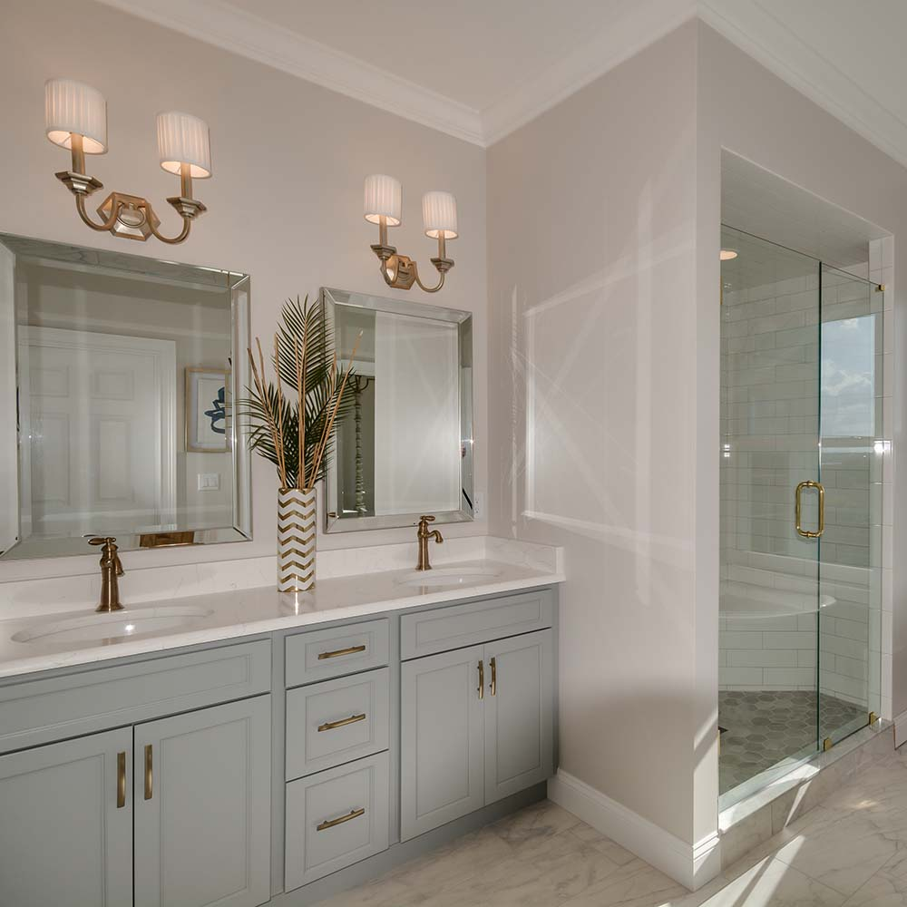 Master Bath, The Hemingway, Ponce Inlet Key